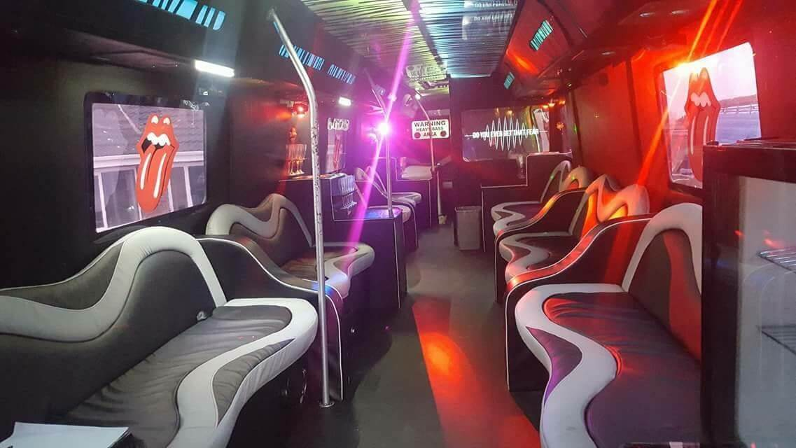 Party Bus Hire In South Yorkshire