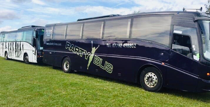 16 to 35 Seat Party Bus Hire