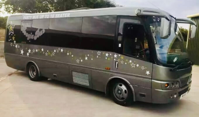 18 Seater Party Bus Rotherham