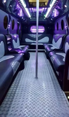 18 Seater Party Bus Sheffield