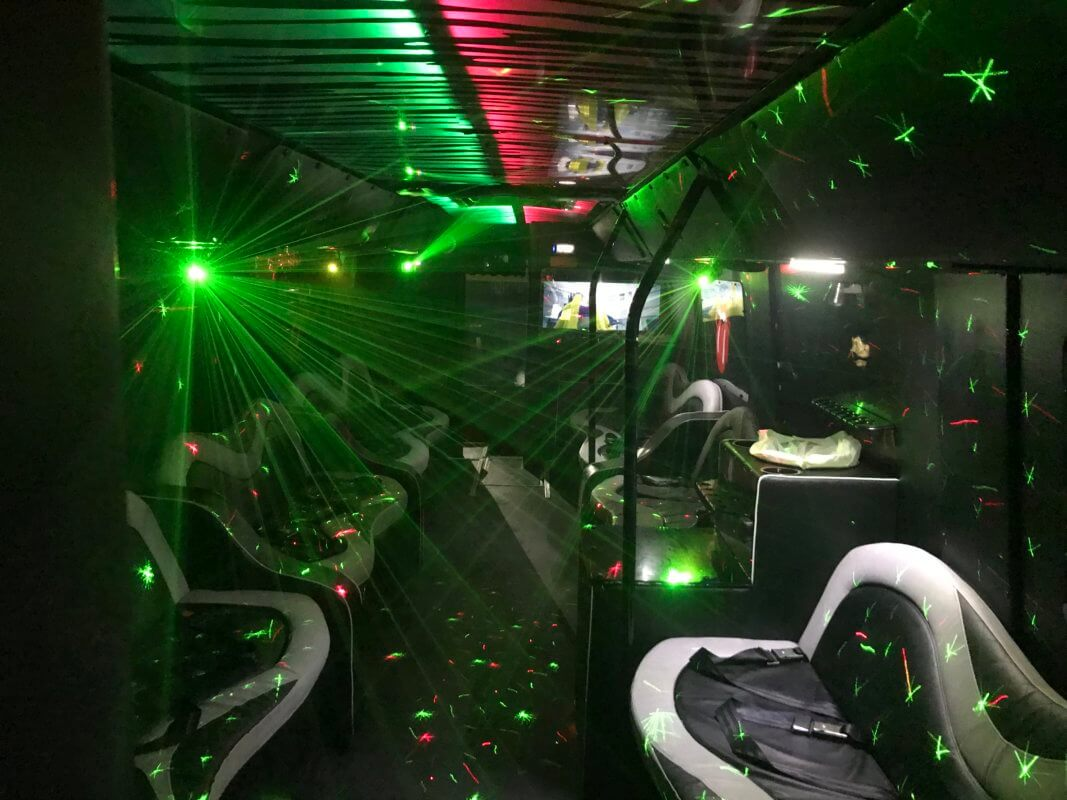 32 Seater Party Bus Hire Yorkshire