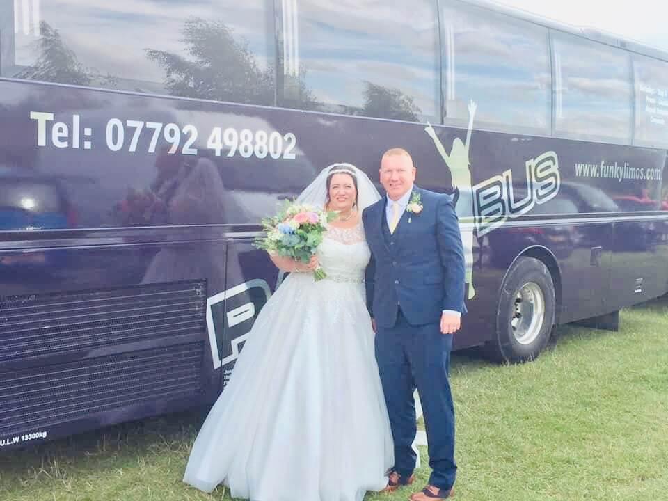 Party Bus Wedding Hire